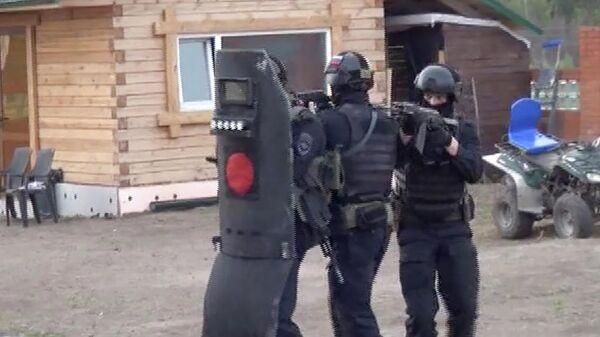 Операция по задержанию криминального авторитета в Томске
