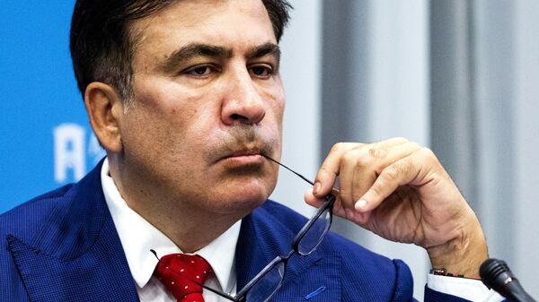 Бывший президент Грузии и лидер украинской оппозиции Михаил Саакашвили