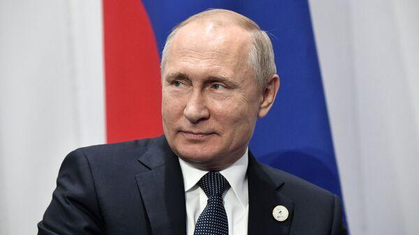 Президент РФ Владимир Путин принимает участие в заседании Высшего Евразийского экономического совета. 29 мая 2019