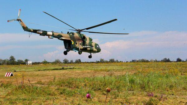 Вертолет Ми-8 ВС Украины
