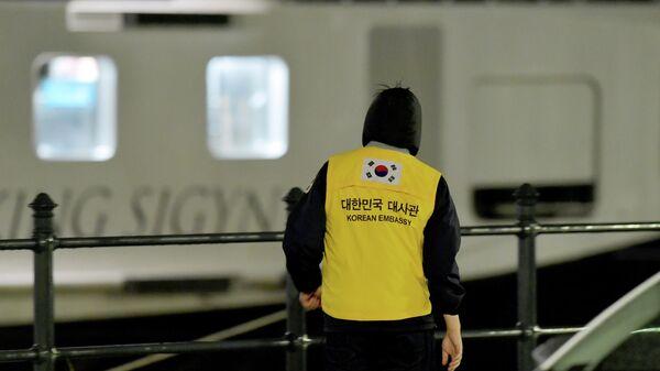 Сотрудник посольства Южной Кореи в Будапеште в районе крушения катера