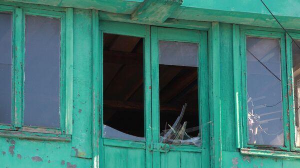 Последствия обстрела окраин Донецка украинскими силовиками. 31 мая 2019