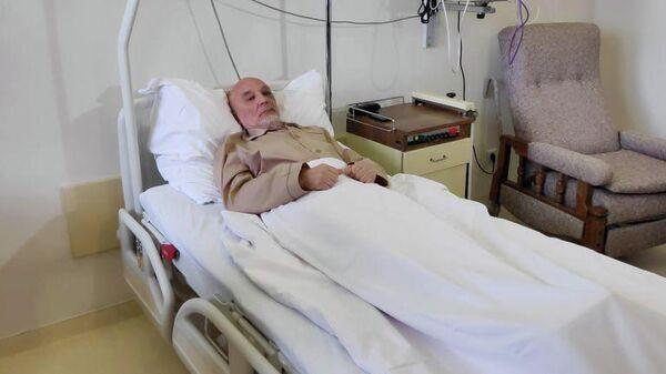 Раненный в Косово сотрудник миссии ООН россиянин Михаил Краснощеков в больнице Белграда