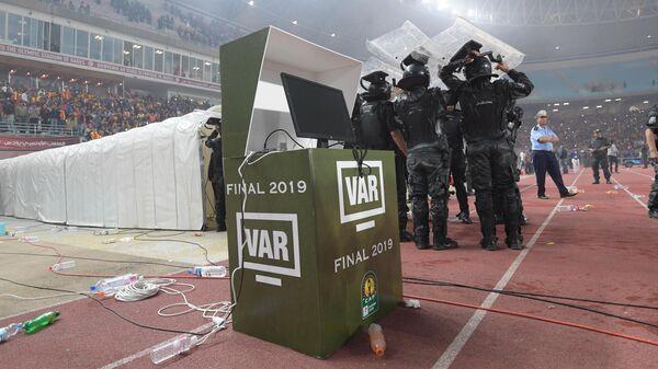 Инцидент с неработающим VAR на финале африканской Лиги чемпионов