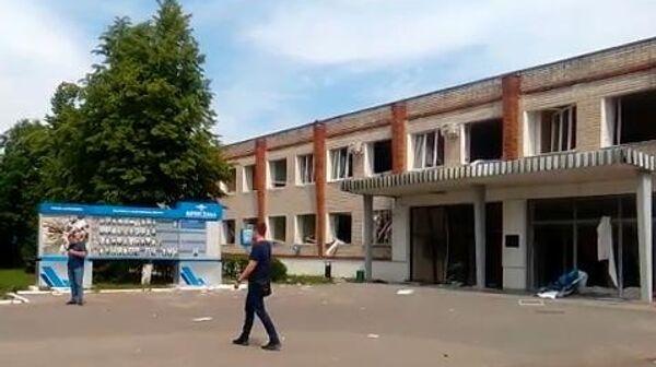 Проходная завода Кристалл в Дзержинске. 1 июня 2019