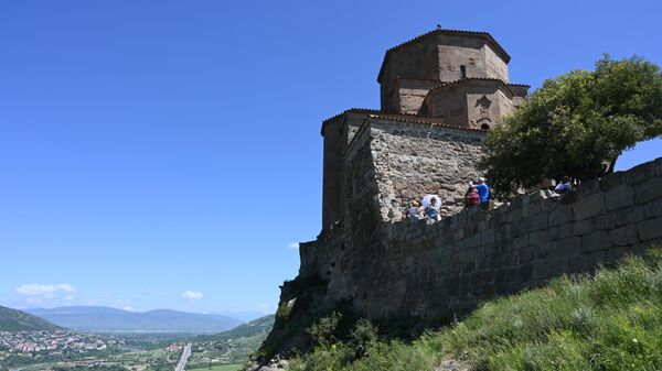 Монастырь Джвари в городе Мцхета в Грузии