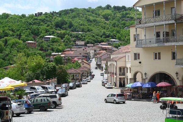 Окрестности города Сигнаги в Грузии