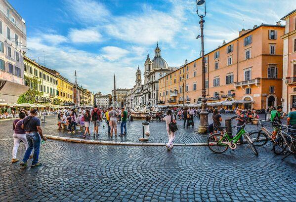 Велосипеды в Риме