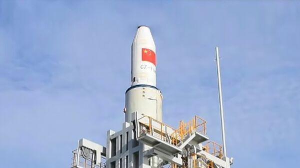 Пуск ракеты-носителя Чанчжэн с морской платформы в Желтом море