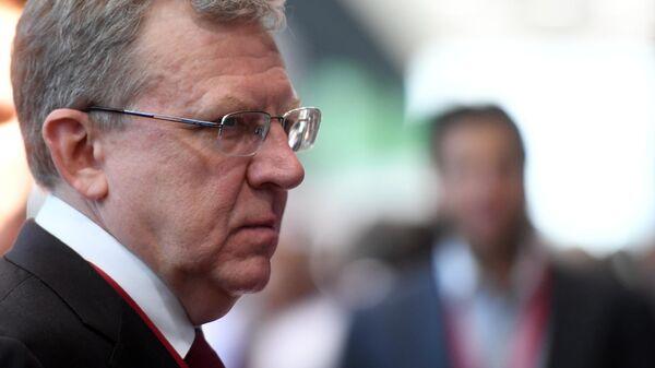 Председатель Счетной палаты РФ Алексей Кудрин на ПМЭФ-2019
