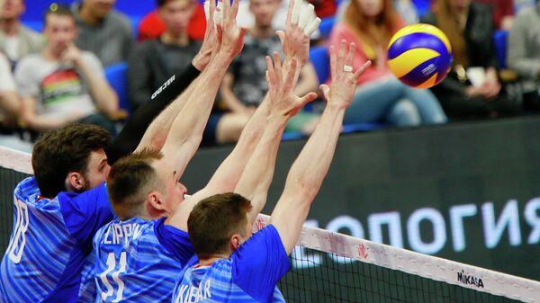 Волейбол. Мужчины. Этап Лиги Наций. Матч Россия - США