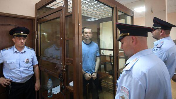 Дмитрий Захарченко в Пресненском суде Москвы. 10 июня 2019