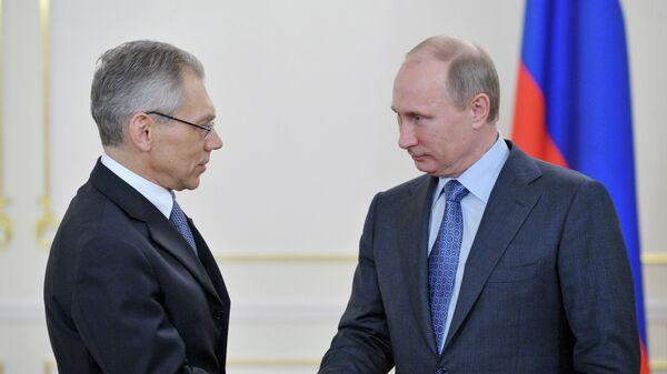 Владимир Путин и Александр Боцан-Харченко