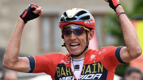 Бельгийский велогонщик Дилан Тёнс