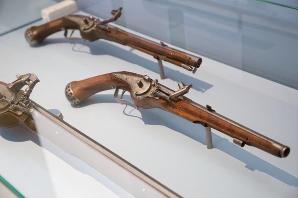 Один из экспонатов выставки 500 лет Тульскому кремлю в Государственном историческом музее