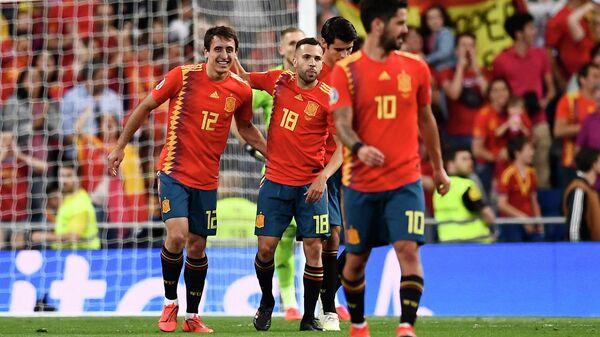 Матч сборной испании по футболу