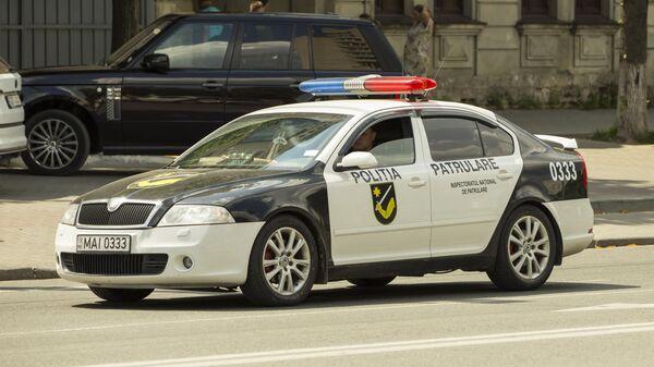 Полиция патрулирует улицы Кишинева