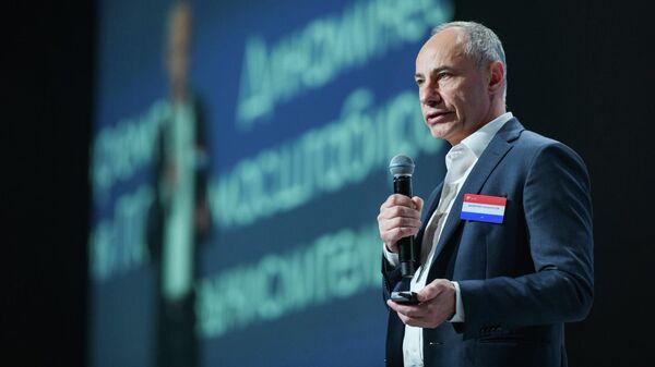 Региональный вице-президент, генеральный директор компании SAS Россия/СНГ Валерий Панкратов