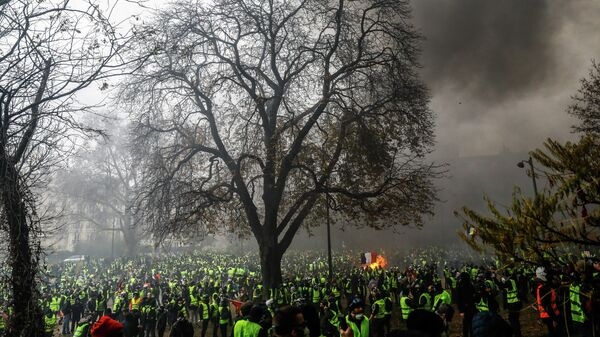 Работа фотографа Самира аль-Думи От одного конфликта к другому. Франция