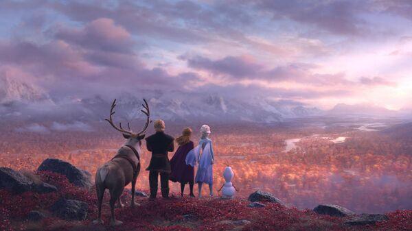 Кадр из мультфильма Холодное сердце 2