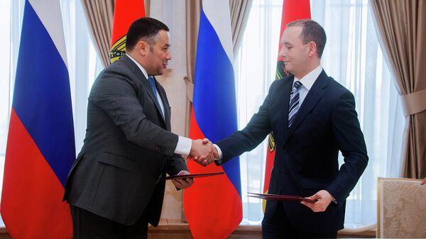 Руденя: соглашение с ХК Динамо-Москва - эпоха в развитии тверского хоккея
