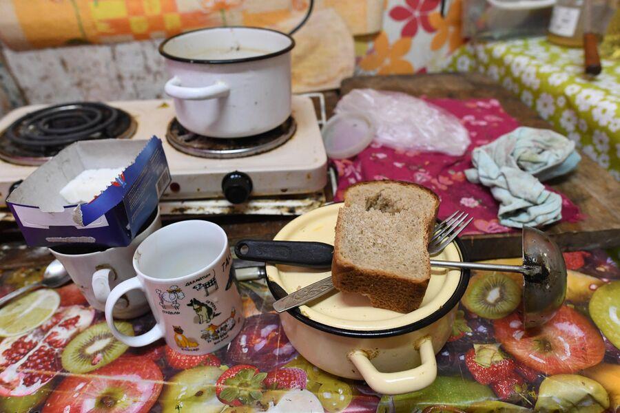 На кухне у Марии Киреевны