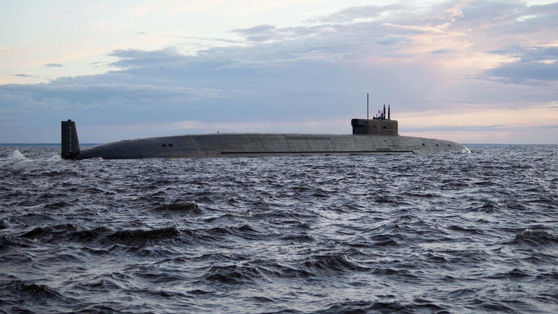 Атомная подводная лодка стратегического назначения Князь Владимир проекта 955А  - РИА Новости, 1920, 11.06.2021