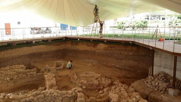 Фотофиксация южной части раскопа