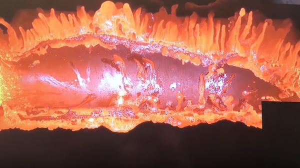 ЕКА показало, как спутники плавятся в атмосфере Земли. Скрин из видео с канала ЕКА в Youtube