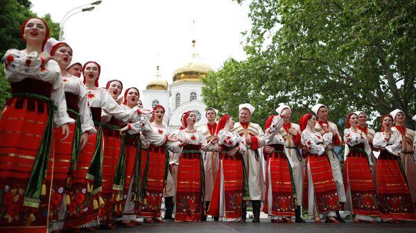 Выступление творческого коллектива на выставке-ярмарке АгроТУР-2019 в Краснодаре