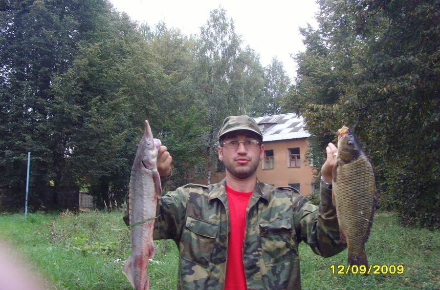Богомолов любит рыбалку