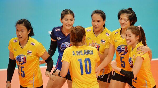 Волейболистки сборной Таиланда