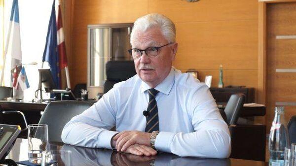 Фрагмент интервью мэра Риги Дайниса Турлайса радио Sputnik Латвия