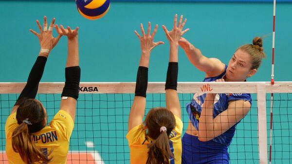 Волейбол. Женщины. Этап Лиги наций. Матч Россия - Таиланд