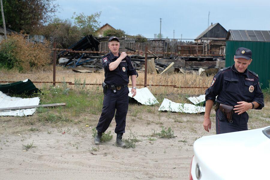 В Лопатках цыганские дома охраняет полиция