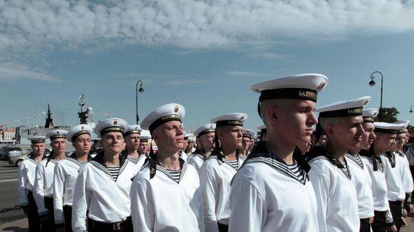 Генеральная репетиция парада к дню ВМФ в Санкт-Петербурге