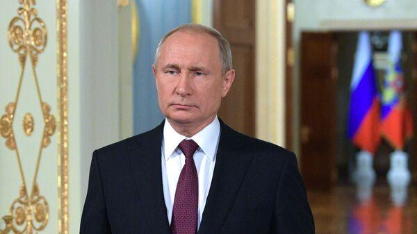 Президент РФ Владимир Путин.Архивное фото