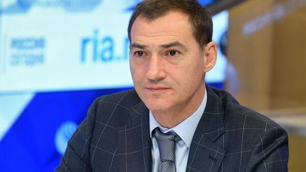 Роман Бабаян в Международном мультимедийном пресс-центре МИА Россия сегодня