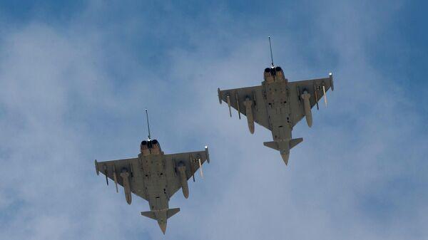 Немецкие истребители Eurofighter Typhoon