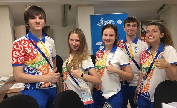 Более восьми тысяч волонтеров задействовано по всей Белоруссии на время проведения  соревнований