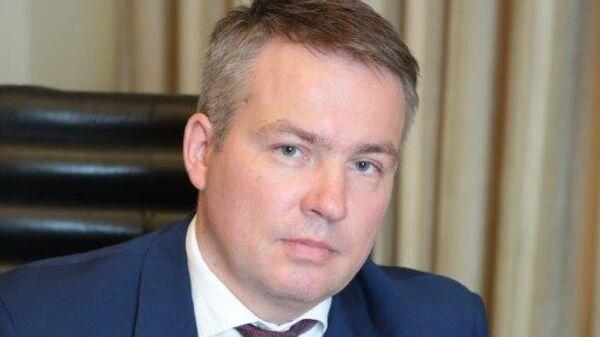 Управляющий ГБУ Мосгоргеотрест Александр Серов