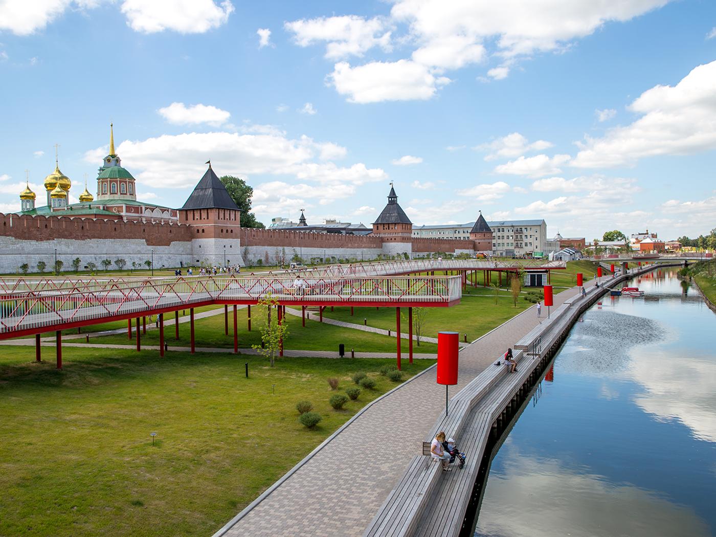 Обои крыши, россия, russia, Облака, kaluga. Города foto 2