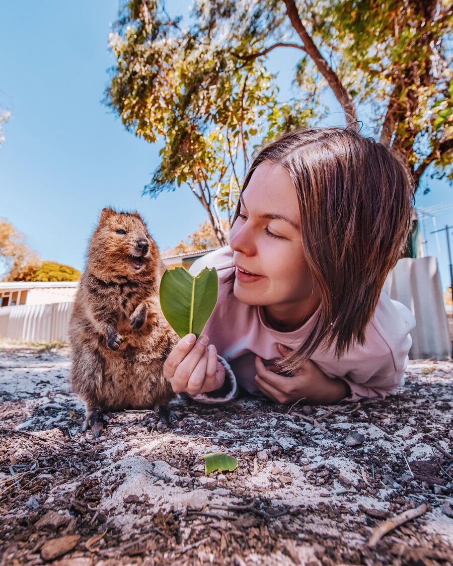Кристина Макеева в Австралии