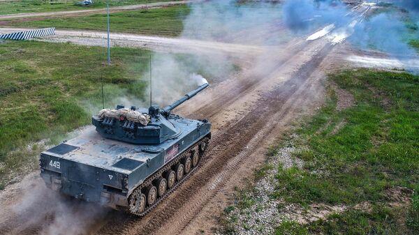 Авиадесантная самоходная противотанковая пушка 2С25 Спрут-СД