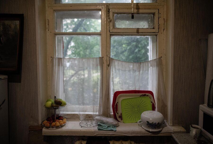 В квартире Екатерины