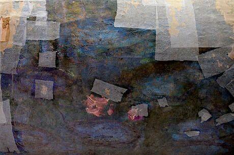 Картина Клода Моне Водяные лилии. Отражение ив