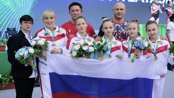Юниорская сборная России по спортивной гимнастике