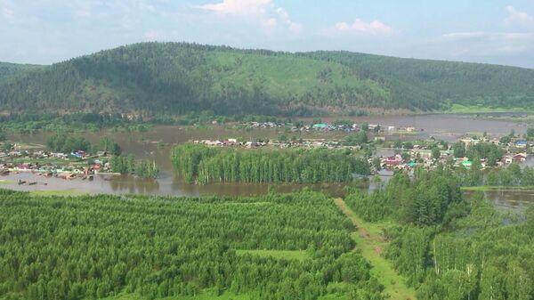 Районы Иркутской области, которые попали в зону подтопления