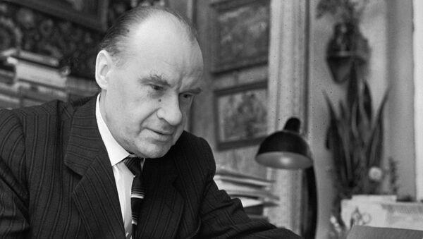 Советский писатель Николай Носов, архивное фото