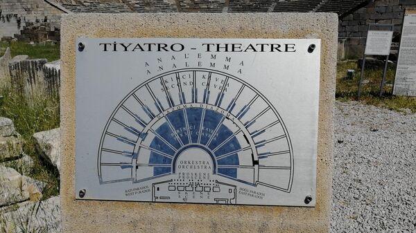 Бодрум. Схема античного театра